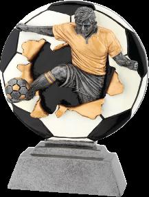 Futball szobor 167