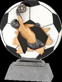Futball kapus szobor 168
