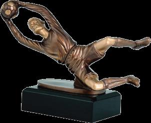 Futball kapus szobor 169
