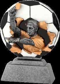 Futball bíró szobor 174