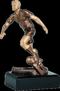 Futball szobor 176