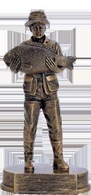 Horgász szobor 158